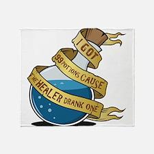 I got 99 Mana Potions Throw Blanket