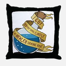 I got 99 Mana Potions Throw Pillow