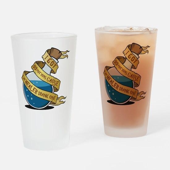 I got 99 Mana Potions Drinking Glass