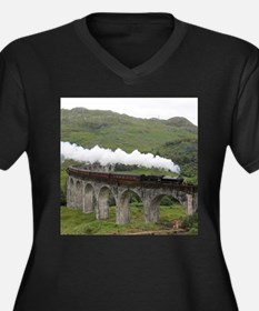 GLENFINNAN VIADUCT 1 Plus Size T-Shirt