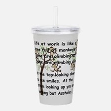 office humor- Acrylic Double-wall Tumbler