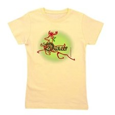 Cute Christmas dance Girl's Tee