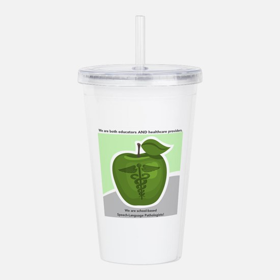 School-based SLP Acrylic Double-wall Tumbler