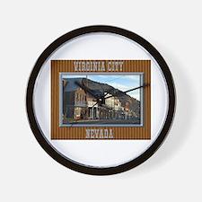 Virginia City Wall Clock