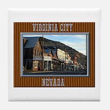 Virginia City Tile Coaster