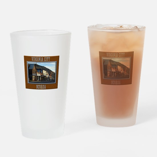 Virginia City Drinking Glass