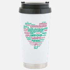 SLP Heart Travel Mug