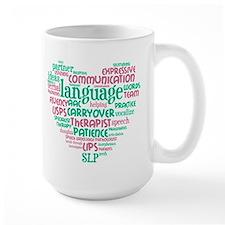 SLP Heart Mugs