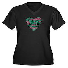SLP Heart Plus Size T-Shirt