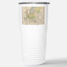 Unique Europe map Travel Mug