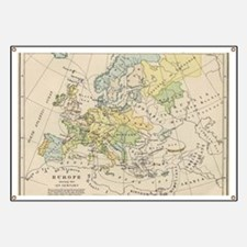 Cool Europe map Banner