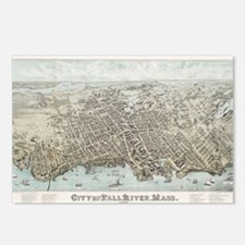 Cute Fall river massachusetts Postcards (Package of 8)