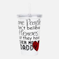Hero Daddy Acrylic Double-wall Tumbler