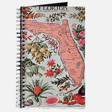 Cute Vintage florida Journal