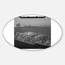 Unique New york landmark Sticker (Oval)