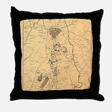 Cute Gettysburg Throw Pillow