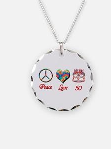 50th. Birthday Necklace