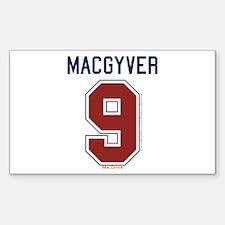 MacGyver: 9 Hockey Jersey Decal
