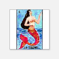 """Cute Mexican culture Square Sticker 3"""" x 3"""""""