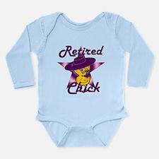 Retired Chick #9 Long Sleeve Infant Bodysuit