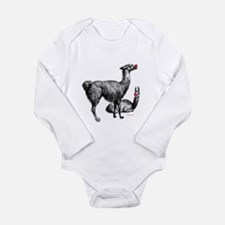 Unique Red nosed Long Sleeve Infant Bodysuit