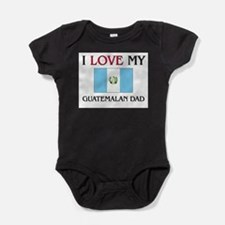 Cute Guatemala map Baby Bodysuit