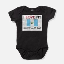 Cute Guatemala flag Baby Bodysuit