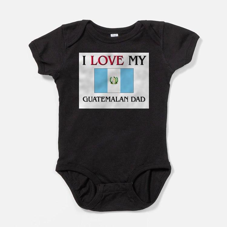 Cute Guatemala Baby Bodysuit