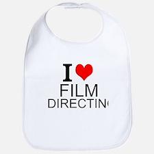 I Love Film Directing Bib