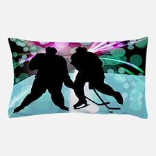 Hockey Duo Face Off Pillow Case