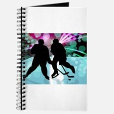 Hockey Duo Face Off Journal