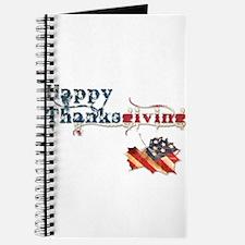 Patriotic thanksgiving leaf Journal