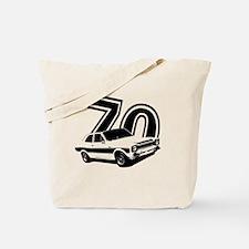 Cute Retro 70s Tote Bag