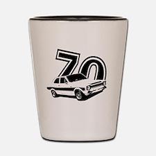 Cute Retro 70s Shot Glass