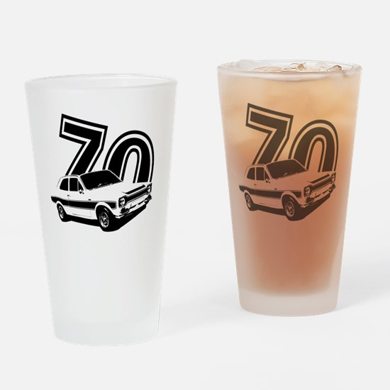 Unique Motoring Drinking Glass