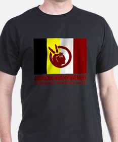 Unique American indian movement T-Shirt