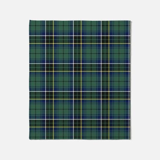 Tartan - MacAlpine Throw Blanket