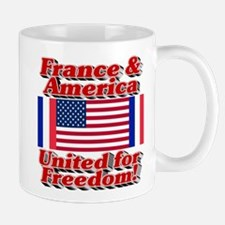 France & America United for Freedom! Mug