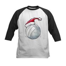 Cute Volleyball christmas Tee