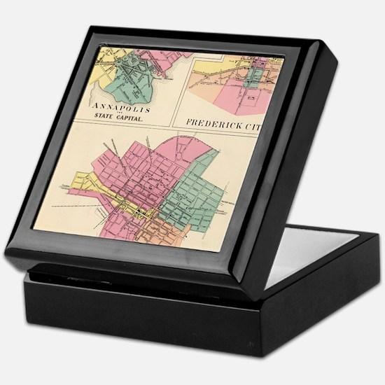 Cute Frederick maryland Keepsake Box