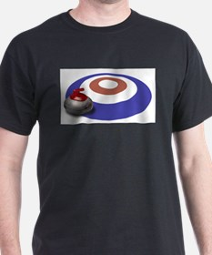 Unique Canadian curling T-Shirt