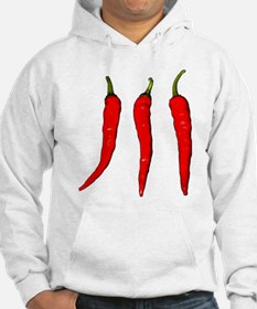 3 Cayenne Peppers Hoodie