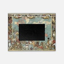Cute World map Picture Frame