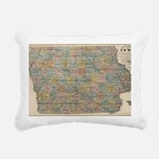 Cute Iowa Rectangular Canvas Pillow