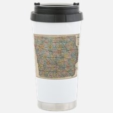 Funny Iowa Travel Mug