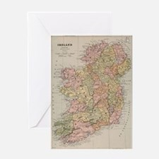 Unique Irish history Greeting Card