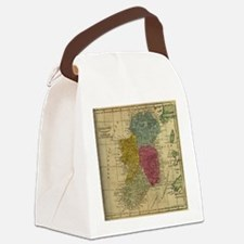 Cute Irish history Canvas Lunch Bag