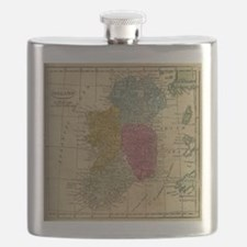Cute Ireland Flask
