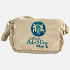 National Adoption Month Messenger Bag