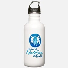 National Adoption Month Water Bottle